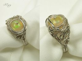 DD - Romance - Opal Ring by FILIGRY