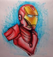 Iron man by MaXiT16