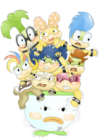 ~koopalings~ by EsySunFury