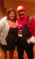 Mario and Me by AlanaLayce
