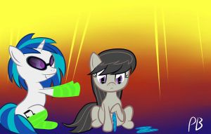 DJ and Octavia Socks by Penguin-Potential