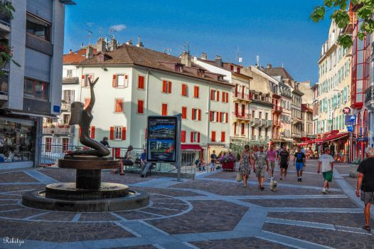 afternoon in Evian by Rikitza