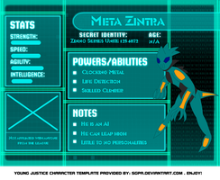 Meta Zintra - Young Justice by LiveFree116