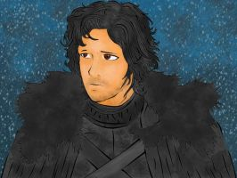 Jon Snow - stick em with the pointy end by FunkBlast