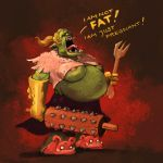 Pregnant Orcish Chick by ApplePlus