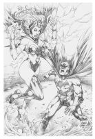 Commission Batman Storm by MARCIOABREU7