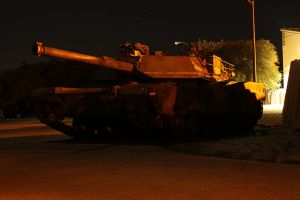 Retired M1 Abrams on Static Display by atomicowboy