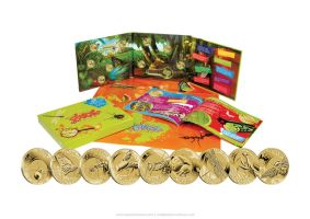 Australian $1 Bugs coin set by T-Tiger