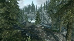 Landscape of Whiterun 12 by Marina17