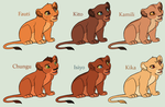 Lion King Cub Adoptables *CLOSED* by acornheart465