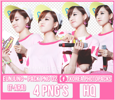 Eunjung (T-ARA) - PACK PNG#02 by JeffvinyTwilight
