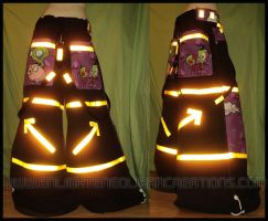 INVADER ZIM Raver Pants by RedheadThePirate