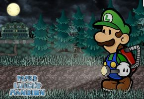 Paper Luigi's Mansion by GEO-GIMP