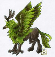 Corrupted Hippogryph by atg