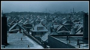 Roof tops, 1972, with story by harrietsfriend