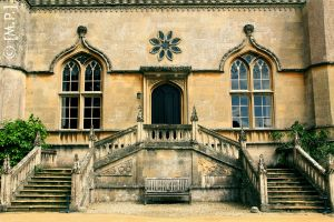 Lacock Abbey by Mashified