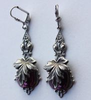Autumn leafs earrings by Pinkabsinthe