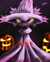Mismagius by Gusteaureeze