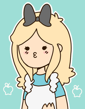 Alice icon by polycomical