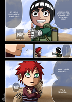 springtime of the youth 7 : Lee and Gaara by Rollando35