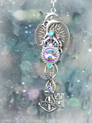 OOAK Ocean Quest Key- Available Apr. 3rd by ArtByStarlaMoore