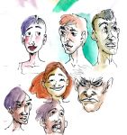Faces by KuzAnna
