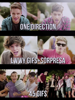 One Direction Gif Pack by TeamTayMemilena