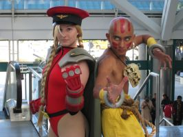 Bison Cammy and Dhalsim by ShiroTagachi