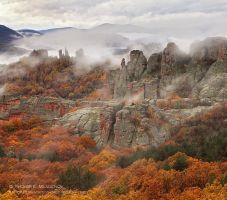 Belogradchik fogs by tihomirmladenov