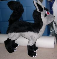 Big Mightyena plush by Bladespark