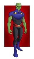 M is for Martian Manhunter by Mista-M