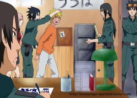 Team7OfficerUchihaHeadquarters by BotanofSpiritWorld