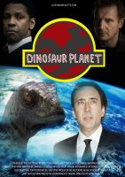 Dinosaur Planet Theatrical Poster by DairyBoyComics