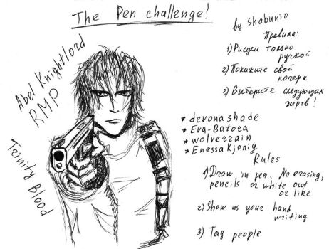 The Pen Challenge by Shabunio