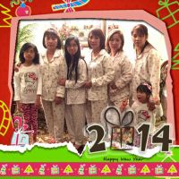 Happy New Year 2015 pic of me and family 1 by Magic-Kristina-KW