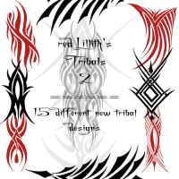 RedLillith's Tribals 2 by rL-Brushes