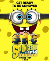 SpongeBob meets Minions by BlueprintPredator