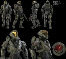 Halo 4 Custom Multiplayer Spartan by Dutch02