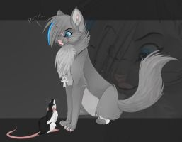 -My little, sweet rat- by Tsamu