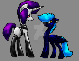 .: MLP : Jimmy and Sky :. by Rainb0wTwister