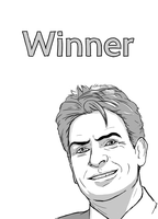 365 day 61 Charlie Sheen Win by Korikian