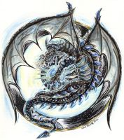 The Night Dragon by PeaceMakerSama