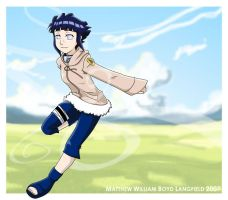 Carefree Hinata by Warbee
