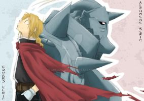 FMA - Two Brothers by DregoWolf