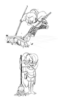 VIOLENT CLEANING by ASSORTEDJELLIES