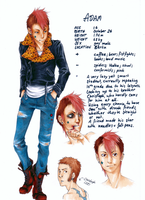 ADAM charactersheet done by paranoidiomatic