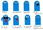 Bloo emotions by yathenamesraven