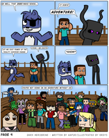 Dark Herobrine - 004 by The-Greys