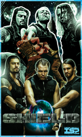 WWE The Shield by TheIronSkull