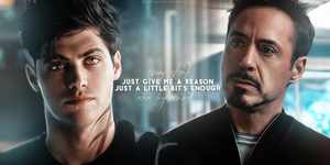 Just give me... (Alec Lightwood and Tony Stark) by EnterDiamond